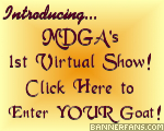 MDGA virtual goat show - click here!